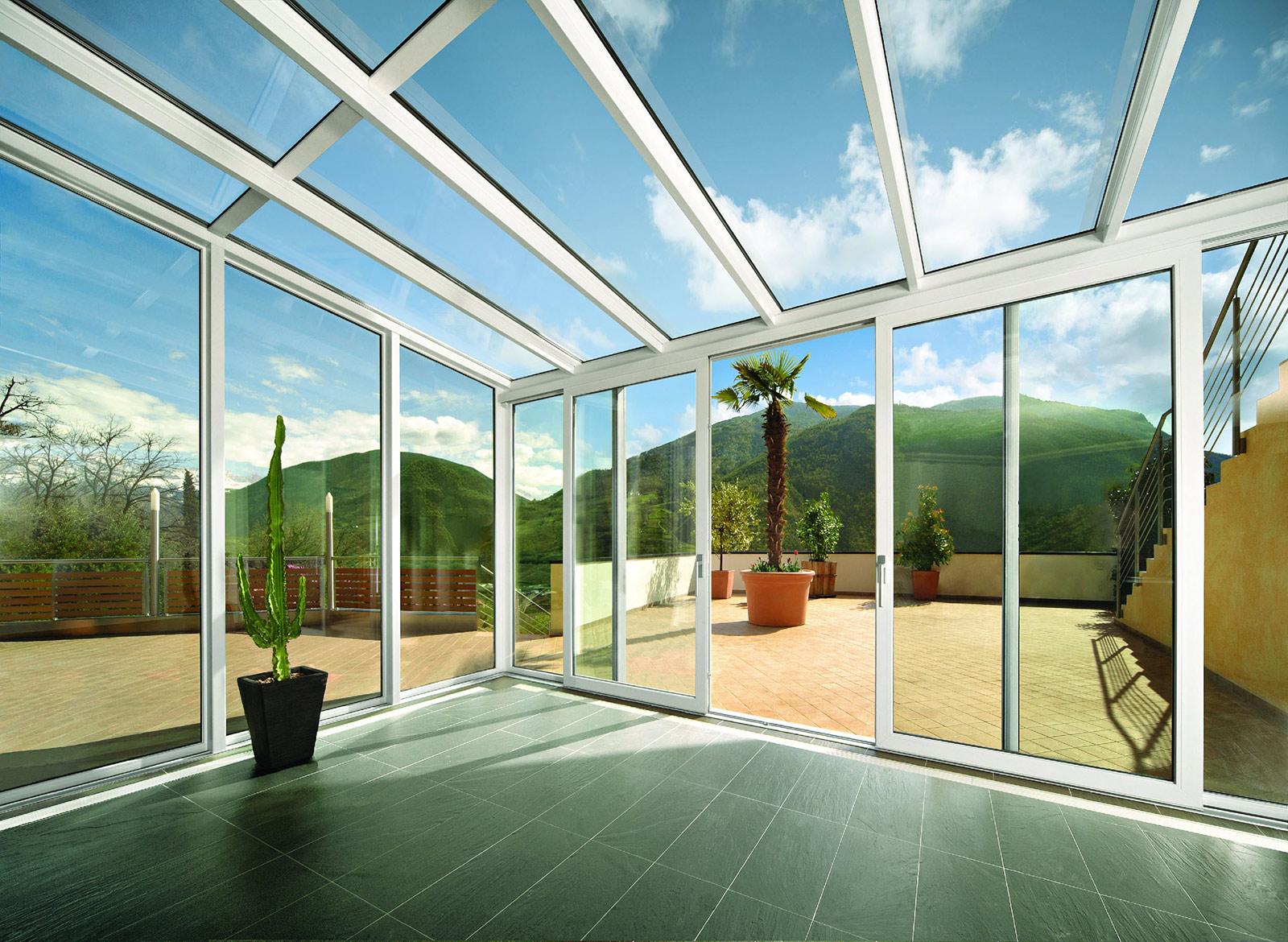 l'Alternativa srl serramenti in PVC Finstral verande